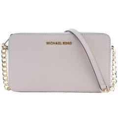Michael Kors/迈克·科尔斯 女士 牛皮 JET SET TRAVEL系列 小号金色金属链条小方包 单肩包 32T6GTVC6L 可斜跨图片