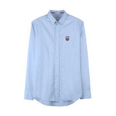 GANT/甘特 2017新品 男士勒芒logo印花衬衫时尚休闲男士长袖衬衫 331110图片