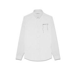 RANDOM GRADE/RANDOM GRADE THIS WAY OR NO WAY刺绣全棉衬衫  男士长袖衬衫图片
