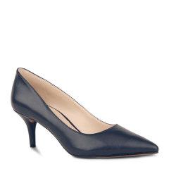 NINE WEST/玖熙新款OL时尚女鞋 纯色套脚尖头浅口  高跟鞋 60298586图片