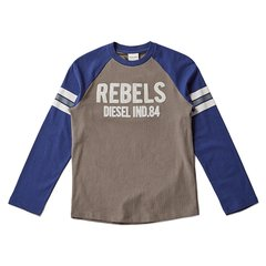DIESEL KIDS 迪赛 男童长袖T恤 儿童T恤 1174T006图片