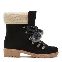 G.H.BASS/G.H.BASS女士短靴 双色牛反绒短靴图片