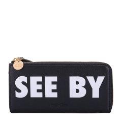 see by chloe/see by chloe 女士牛皮长款钱夹 钱包 CHS18AP821443图片