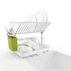 英国joseph joseph创意厨房用品Y型碗碟沥水架/碗碟架/放碗架图片