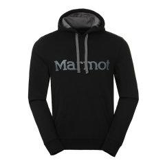 marmot/土拨鼠秋冬新款户外柔软舒适棉质男式连帽套头卫衣J53640图片