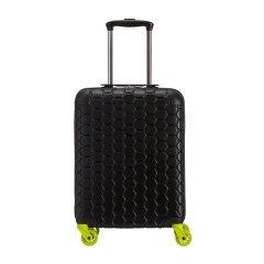 CARPISA/CARPISA Gotech专利系列 男女通用中性款式合金塑料PC/ABS蜂窝状图案万向轮登机箱旅行箱行李箱拉杆箱 20寸图片