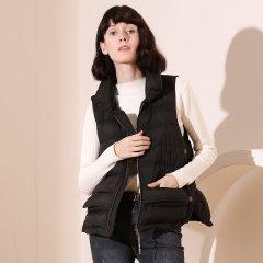 TATU/她图羽绒马甲女背心90%白鸭绒加厚保暖休闲韩版女士马甲图片