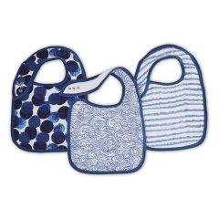 aden+anais/aden+anais 婴儿襁褓包巾宝宝纱布盖被盖毯梦中摇曳等系列航海风情-鲸鱼盖被图片