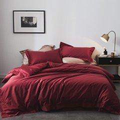 ROYALROSE LITERIE 100%棉 100支纱全棉高支高密活性印染贡缎四件套图片