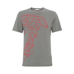 VERSACE COLLECTION/VERSACE COLLECTION 男士经典款灰色短袖T恤 B1701M2083VC13男士短袖T恤图片