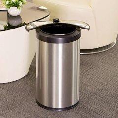 【智能感应】【静音开屏式】利快NST北欧智能感应垃圾桶家用客厅厨房卧室卫生间大号电动垃圾箱  (防指纹 静音 设计)9升-12L图片