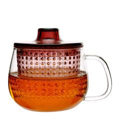 日本进口耐热玻璃小茶壶    利快kinto家用办公茶杯壶单用带过滤茶具350ml   轻薄耐用  红点奖图片