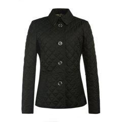 BURBERRY/博柏利 女士涤纶绗缝菱格系扣修身夹克棉服外套图片