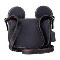 COACH/蔻驰 女士黑色牛皮迪斯尼系列单肩斜挎包 F59369图片