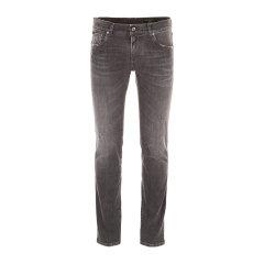 【18春夏】 Dolce&Gabbana/杜嘉班纳 男士牛仔裤 100%棉 logo装饰 时尚 灰色 CTT图片