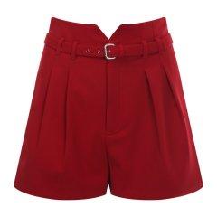 Red Valentino/Red Valentino   腰带式女士短裤  QR3RF1A5 0VM ONO图片