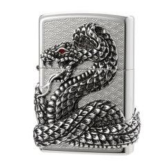 美国原装 打火机ZIPPO 四面环绕蛇神 限量防风礼物图片