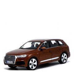 奥迪Q7越野车2015款合金仿真汽车模型摆件礼品图片