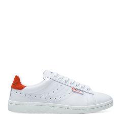SUPERGA/SUPERGA 休闲皮面板鞋女款 Sport Lendl联名系列 秋冬新款透气系带平底小白鞋女鞋  明星联名款图片