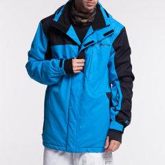 PROTEST/博特斯秋冬装男装撞色拼接连帽滑雪服外套御寒保暖抗风防水雪服图片
