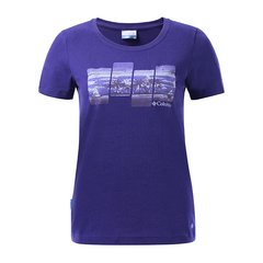 Columbia/哥伦比亚 女款户外雨林印花吸湿短袖T恤 PL2603图片
