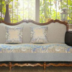 瑞典ekelund 北欧纯棉沙发垫 全棉四季皮沙发组合坐垫子定制做图片