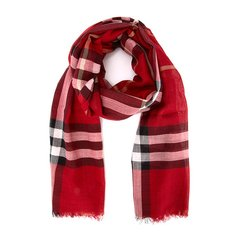 BURBERRY/博柏利  格X羊毛丝质混纺围巾 3743232图片