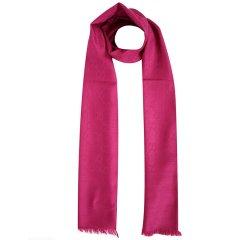 GUCCI/古驰 双G提花纯色羊毛真丝混纺围巾165904