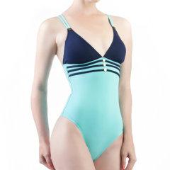 JOG/JOG HOULGATE2017  女士 金扣运动款 连体泳装 134图片
