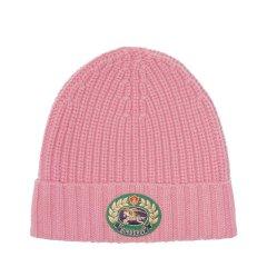 BURBERRY/博柏利18秋冬新款中性绣章罗纹羊毛混纺针织帽(三色可选)图片