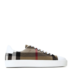 BURBERRY 博柏利 皮革/织物  WESTFORD 女士 休闲鞋图片