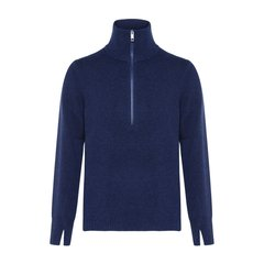 BURBERRY/博柏利LONDON系列混合材质纯色羊毛衫男士针织衫/毛衣图片