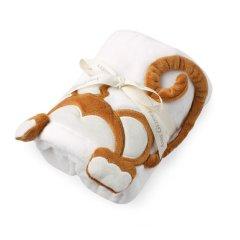 Anne Geddes/安妮.格迪斯 新生儿白色法兰绒抱毯抱被多款可选 男宝女宝图片