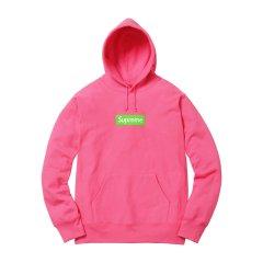 【吴亦凡同款】Supreme 17FW Box Logo Hooded Sweatshirt 经典款 明星同款 帽衫 卫衣 BOGO图片
