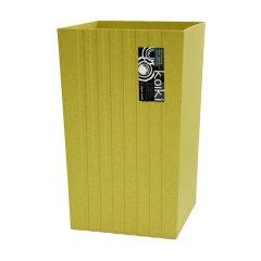 Waybe日本进口摩登垃圾桶  分类垃圾桶  利快简约创意形磨砂厨卫清洁桶 居室百搭 10升图片