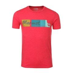 marmot/土拨鼠18春夏休闲户外男士运动T恤超轻舒适品牌短袖F59600图片