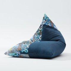 MRLAZY玩味系列现代摇滚风拼接粽子款懒人沙发图片