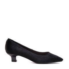 BENATIVE/本那通勤OL系列 2018春夏新款方头单鞋 简约细跟女士中跟鞋图片