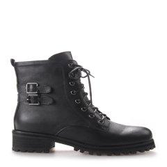 Neiliansheng/内联升 女士靴子系带休闲皮靴 4732C图片
