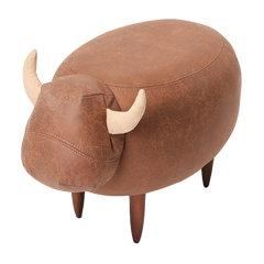 Yousuo/有所 哞哞坐墩设计师趣味设计可爱动物脚凳换鞋凳有所牧场图片