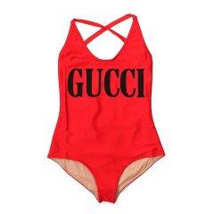 古驰/GUCCI 19年春夏 泳衣 女性 连体 logo 户外女士泳装 501899 XJANK 6287图片