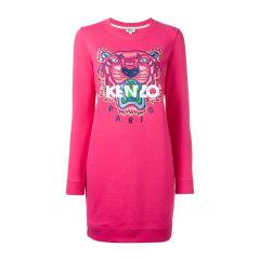 KENZO/高田贤三  经典款式虎头图案套头长款女士连衣裙 4XC 2RO835图片