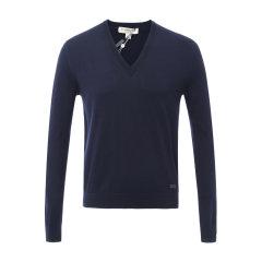 BURBERRY/博柏利 男士针织衫/毛衣 纯棉纯色V领男士针织衫图片