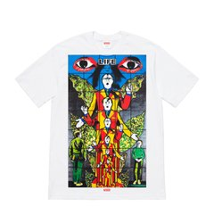 Supreme 19SS Gilbert George LIFE 艺术家联名圆领短袖T恤图片