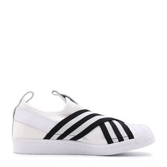 【奢品节可用券】adidas/阿迪达斯三叶草 女 SUPERSTAR SLIPON贝壳头懒人一脚蹬运动休闲板鞋 BZ0112/AC8581/AC8582图片