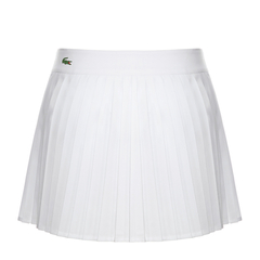 Lacoste/鳄鱼 白色女式短裙女士半身裙图片