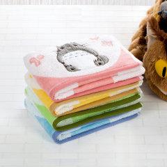 UCHION/内野 毛巾系列 龙猫乐园方巾35*35cm 粉色图片