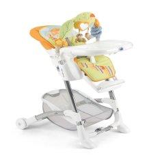 CAM/贝贝亲 意大利原装进口 宝宝餐椅婴儿餐桌座椅便携式可折叠多功能儿童吃饭椅子 新款S2400图片