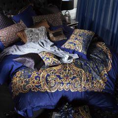YOLANNA/意•欧恋纳 意式高端床品纳比拉长绒棉四件套1.8米床图片