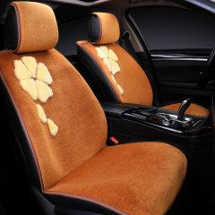 pinganzhe 汽车新款冬季羊毛坐垫 汽车绣花纯羊毛坐垫 汽车座垫图片